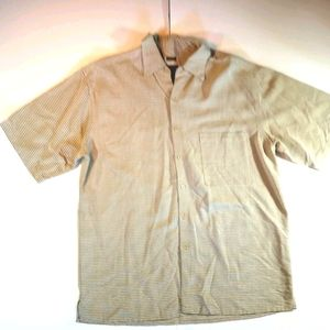 Bruno B Sueded Mens Large Button Downl